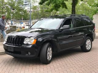 Used 2008 Jeep Grand Cherokee DIESEL,LOCAL,NO ACCIDENT,MINT CONDITION for sale in Vancouver, BC