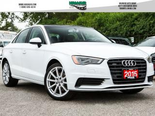Used 2015 Audi A3 2.0T Technik for sale in North York, ON