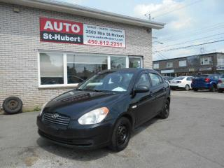Used 2007 Hyundai Accent GL ** TOUT ÉQUIPÉ ** for sale in Saint-hubert, QC
