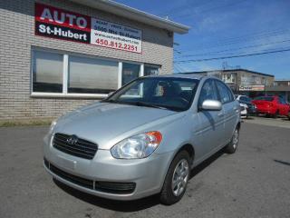 Used 2010 Hyundai Accent GS TOUT ÉQUIPÉ ** 138 000 KM ** for sale in Saint-hubert, QC