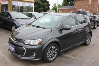 Used 2017 Chevrolet Sonic LT RS Sunroof Loaded for sale in Brampton, ON