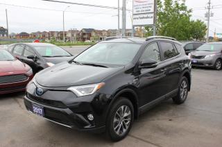 Used 2017 Toyota RAV4 LE AWD Hybrid for sale in Brampton, ON