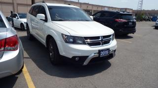 Used 2015 Dodge Journey Crossroad/BACKUP CAMERA/LEATHER/IMACULLATE$16900 for sale in Brampton, ON
