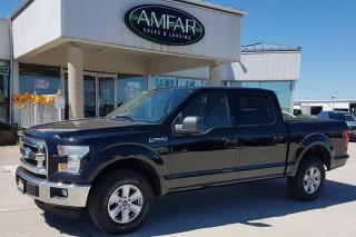 Used 2016 Ford F-150 4x4 / CREW CAB / NO PAYMENTS FOR 6 MONTHS !! for sale in Tilbury, ON