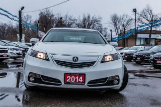 Used 2014 Acura TL w/Tech Pkg LEATHER NAVI ROOF ACCIDENT FREE for sale in Brampton, ON