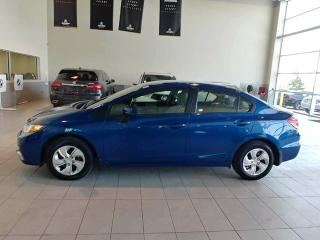 Used 2014 Honda Civic LX - Heated Seats, Bluetooth + CD Player! for sale in Red Deer, AB