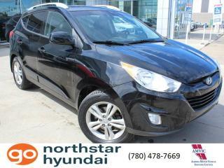 Used 2010 Hyundai Tucson GLS AWD/LEATHER/HEATEDSEATS/ALLOYS for sale in Edmonton, AB