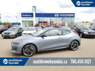 New 2019 Hyundai Veloster TURBO TECH - 1.6T LEATHER/PUSH BUTTON START/HEADS UP DISPLAY for sale in Edmonton, AB