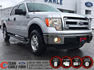Used 2014 Ford F-150 Ford F-150 XLT 2014 CREWCAB, CAMÉRA DE R for sale in Gatineau, QC