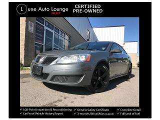 Used 2009 Pontiac G6 SE AUTO, SUNROOF, BLUETOOTH, NEW WHEELS! for sale in Orleans, ON