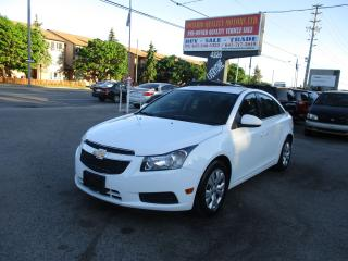 Used 2013 Chevrolet Cruze LT Turbo,-Backup Camera!!! for sale in Scarborough, ON