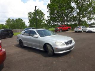 Used 2002 MERCEDES BENZ S55 AMG * SUNROOF * LEATHER for sale in London, ON