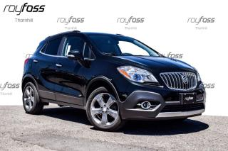 Used 2014 Buick Encore AWD Rear Cam Bluetooth 18 Alum Whls for sale in Thornhill, ON
