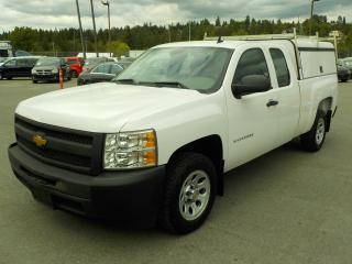 Used 2013 Chevrolet Silverado 1500 Work Truck Ext. Cab 2WD Canopy for sale in Burnaby, BC