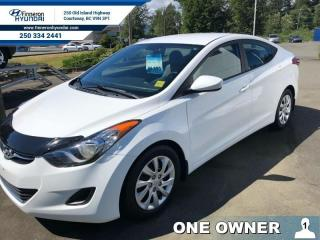 Used 2013 Hyundai Elantra GL  - one owner - local - trade-in for sale in Courtenay, BC