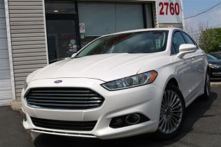 Used 2013 Ford Fusion Titanium. AWD  2.0L Navi. Leather. Roof for sale in North York, ON