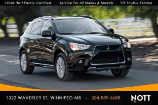 Used 2013 Mitsubishi RVR GT (S-CVT) Panoramic Roof AWD for sale in Winnipeg, MB