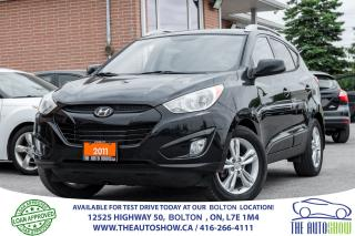 Used 2011 Hyundai Tucson GLS AUTO REAR CAMERA ACCIDENT FREE 1 OWNER GLS for sale in Caledon, ON