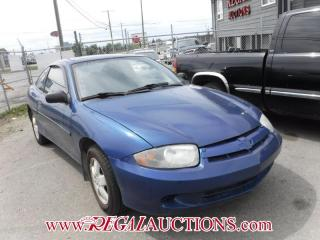 Used 2005 Chevrolet CAVALIER  2D COUPE for sale in Calgary, AB