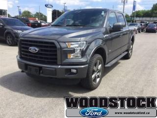 Used 2015 Ford F-150 3.5L ECO, Sport Package, Navigation for sale in Woodstock, ON