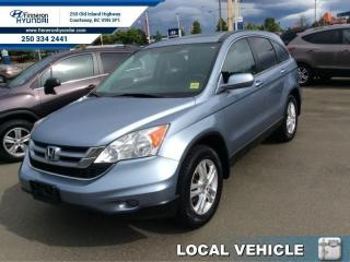 Used 2010 Honda CR-V EX-L  - one owner - local - trade-in for sale in Courtenay, BC