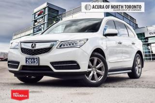 Used 2015 Acura MDX Elite at Accident Free| Navigation| DVD| for sale in Thornhill, ON