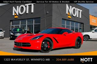 Used 2014 Chevrolet Corvette StingRay Z51 2LT 1-Owner HUD Nav Backup for sale in Winnipeg, MB