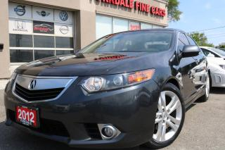 Used 2012 Acura TSX V6 Technology Package Navigation. Leather. Roof for sale in North York, ON
