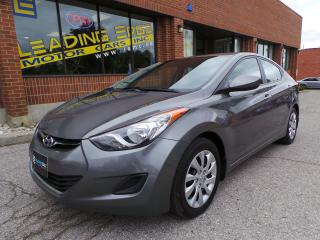 Used 2012 Hyundai Elantra GL 6 Speed Manual, Heated Seats, Bluetooth for sale in Woodbridge, ON