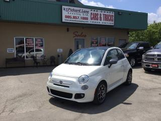 Used 2012 Fiat 500 Sport for sale in Bolton, ON