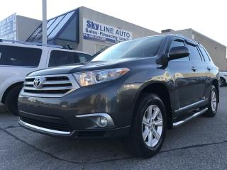 Used 2011 Toyota Highlander Base DVD ENTERTAINMENT|7 PASSENGER|CERTIFIED for sale in Concord, ON
