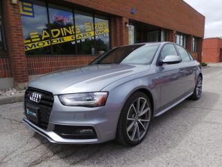 Used 2015 Audi S4 3.0T Technik Quattro with Sport Differential, Black Optics Package for sale in Woodbridge, ON