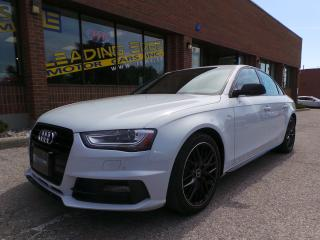 Used 2015 Audi A4 2.0T Technik S-Line Competition, 6 Speed for sale in Woodbridge, ON
