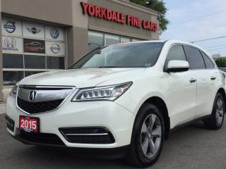 Used 2015 Acura MDX Tech Pkg. 7 Passengers. Camera. Leather. Roof for sale in North York, ON