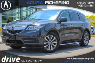 Used 2015 Acura MDX Navigation Package Clean CarProof|Navigation|Leather Upholstery for sale in Pickering, ON