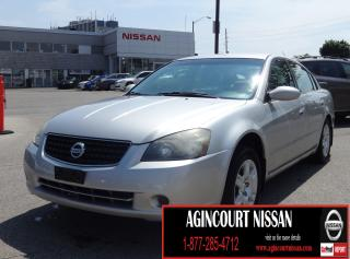 Used 2006 Nissan Altima 2.5 S |AS-IS SUPERSAVER| for sale in Scarborough, ON