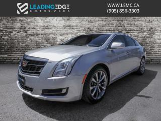 Used 2016 Cadillac XTS Luxury Collection Heated and Cooled Seats, Leather for sale in Woodbridge, ON