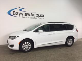 Used 2017 Chrysler Pacifica Touring-L - REM START! HTD LTHR! NAV! PWR LIFTGATE! STOW 'N GO! for sale in Belleville, ON
