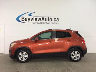 Used 2014 Chevrolet Trax 1LT - TURBO! ALLOYS! PWR SEATS! ON STAR! CRUISE! for sale in Belleville, ON