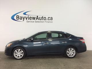 Used 2014 Nissan Sentra 1.8 SL - ALLOYS! SUNROOF! PUSH BTN START! HTD LTHR! BOSE! for sale in Belleville, ON