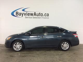 Used 2015 Nissan Sentra 1.8 SV - ALLOYS! SUNROOF! TINT! HEATED SEATS! NAV! REV CAM! for sale in Belleville, ON