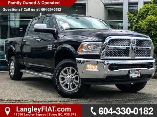 Used 2017 RAM 3500 Laramie NO ACCIDENTS, B.C OWNED for sale in Surrey, BC