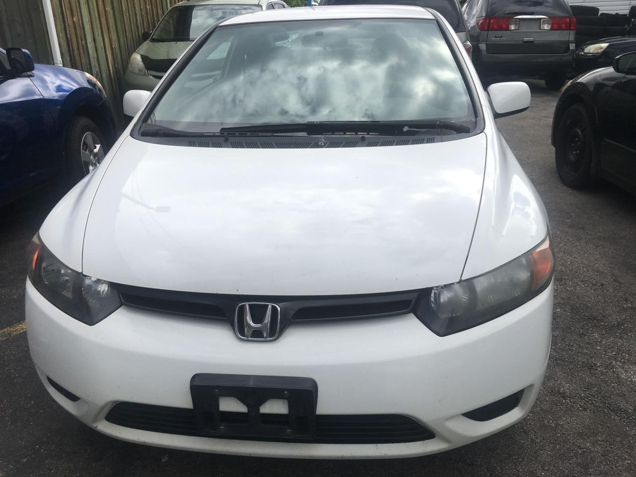 Photo of White 2007 Honda Civic
