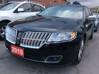 Used 2010 Lincoln MKZ AWD/Bluetooth/Leather Heated & Cooled Seats/Roof for sale in Scarborough, ON