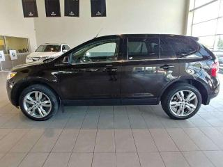 Used 2013 Ford Edge Limited - Heated Leather, Sunroof, B/U Cam + Nav! for sale in Red Deer, AB