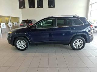 Used 2016 Jeep Cherokee North - Heated Seats, B/U Cam, Sunroof + Remote Start! for sale in Red Deer, AB
