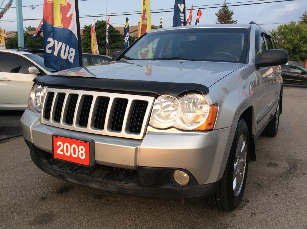 2008 Jeep Grand Cherokee Diesel/3.0L/Low Mileage/Laredo/4X4/Roof/Alloys