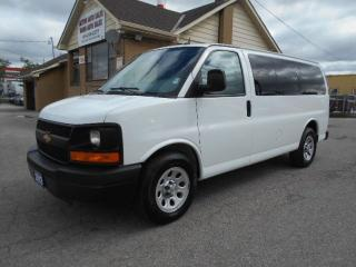 Used 2012 Chevrolet Express 1500 LS ALL WHEEL DRIVE 8Passenger Certified ONLY 59Kms for sale in Etobicoke, ON