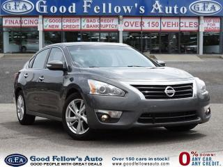 Used 2015 Nissan Altima SL MODEL, LEATHER SEATS, SUNROOF, NAVIGATION for sale in North York, ON