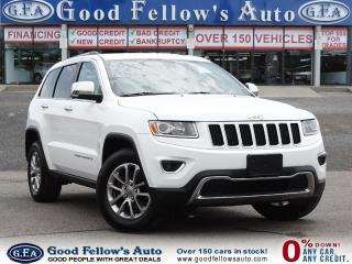 Used 2015 Jeep Grand Cherokee LIMITED MODEL, LEATHER SEATS, SUNROOF, NAVIGATION for sale in North York, ON